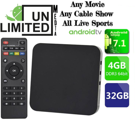 4 GB Ram Android Box